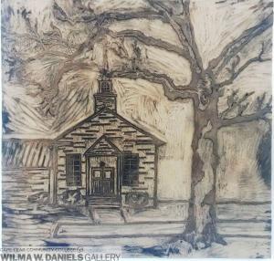 Wooden Church by Katelyn Diaz.